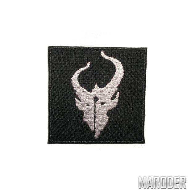 Нашивка Demon Hunter черная. Devgru putch