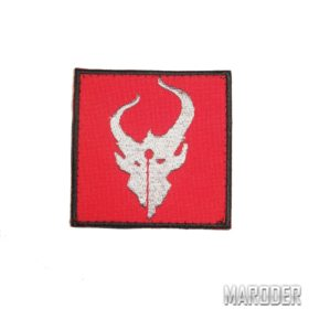 Нашивка Demon Hunter красная. Devgru putch