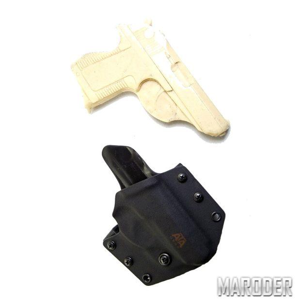Кобура для пистолета ПСМ HIT FACTOR. ATA Gear пластиковая