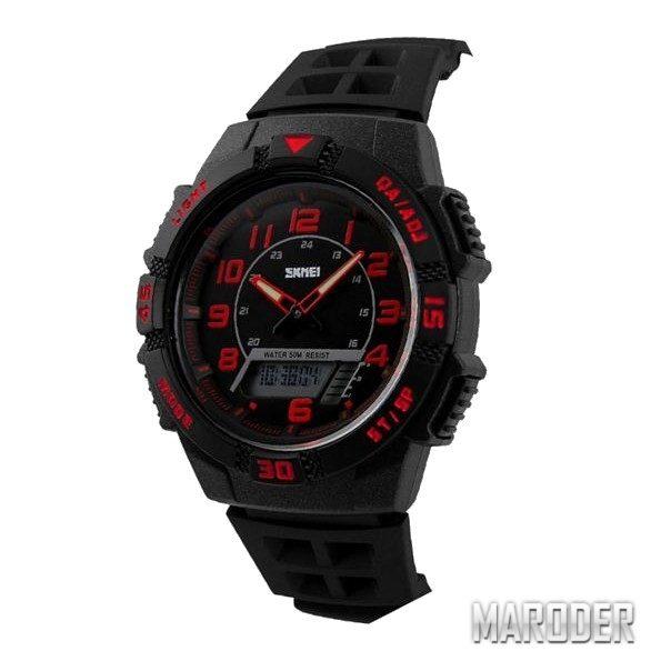 Часы Skmei 1065 Black-Red