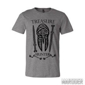 Футболка Treasure Hunter серая