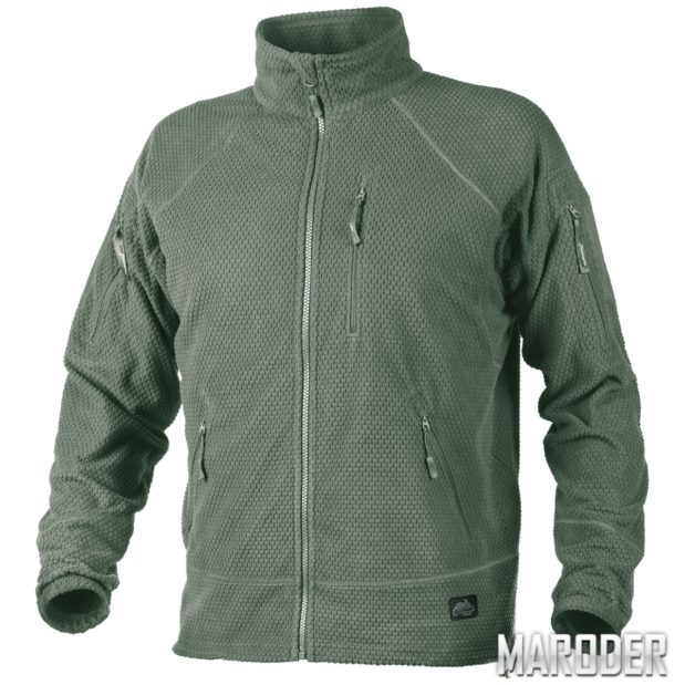 Куртка флисовая ALPHA TACTICAL Foliage Green