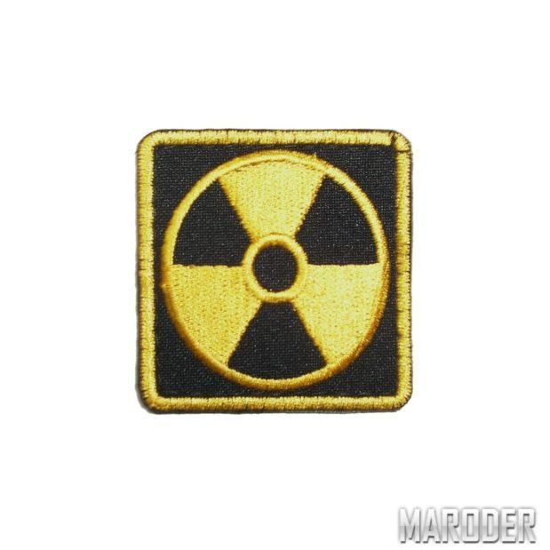 нашивка радиация квадрат сталкер