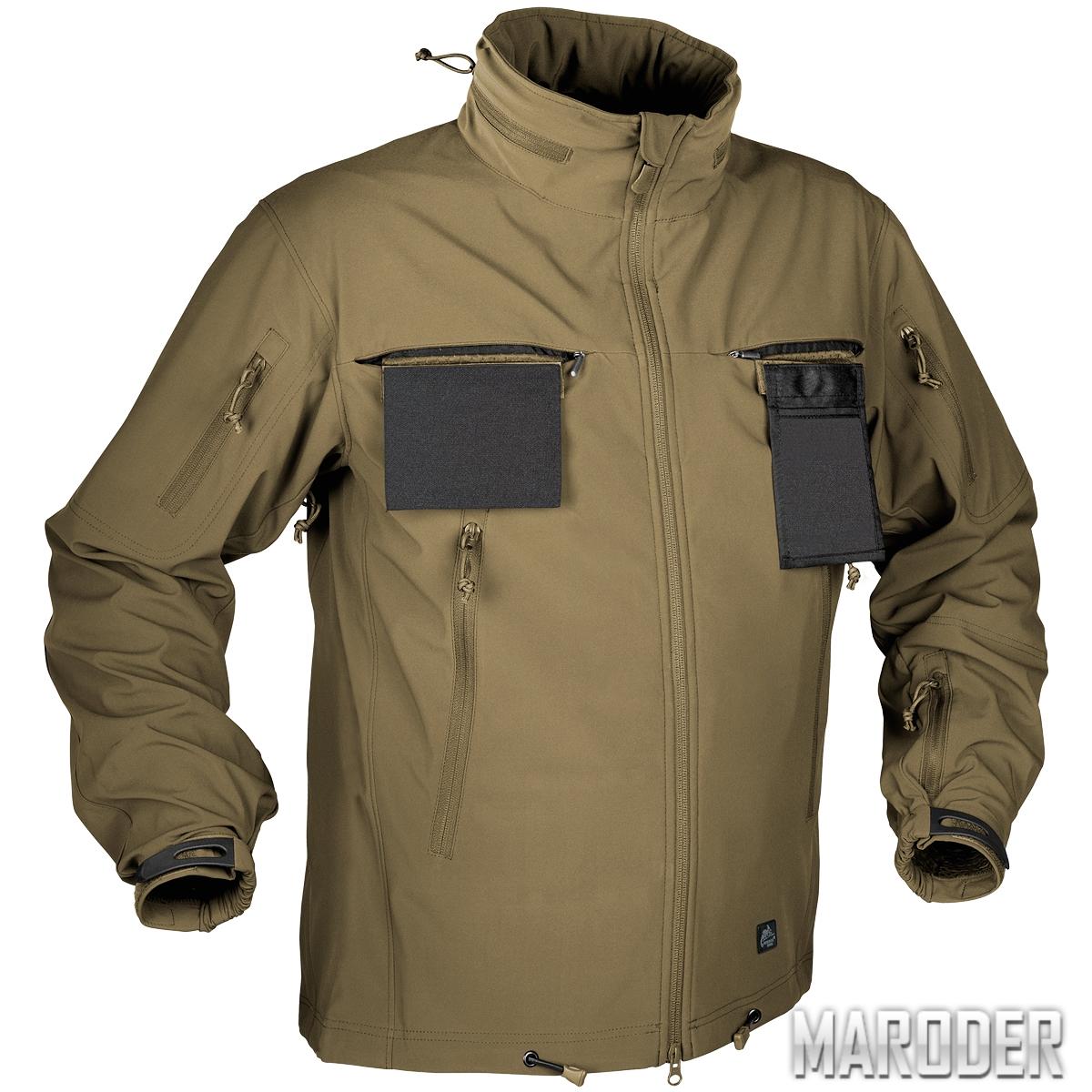 Тактическая куртка Soft Shell Cougar QSA КОЙОТ