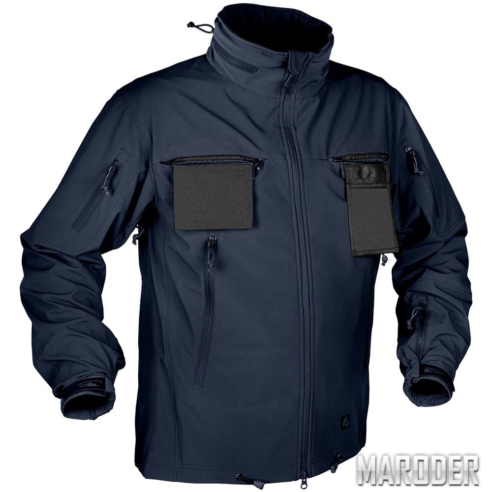 Тактическая куртка Soft Shell Cougar QSA Navy Blue_обзор