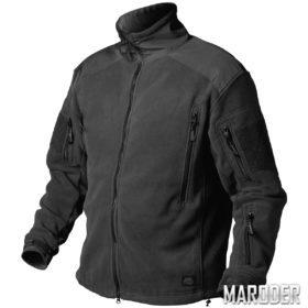 Куртка флисовая Liberty Fleece Черная. Helikon-Tex