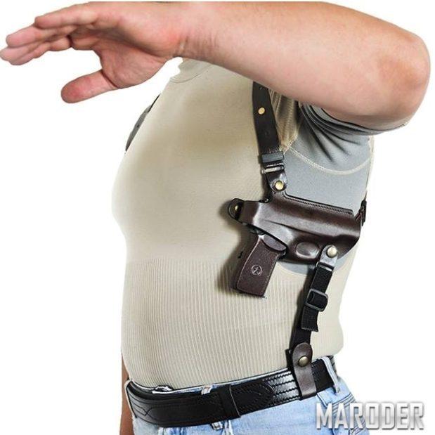 Подплечная оперативная кобура под пистолет ПМ от компании A-Line