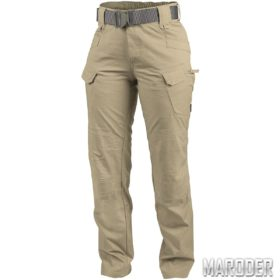 Тактические женские брюки PolyCotton Ripstop UTP Khaki. Helikon-tex