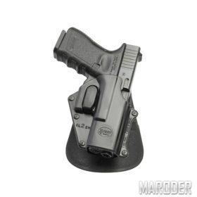 Кобура пластиковая поворотная Fobus GL-2 SH RT для Glock 17/19