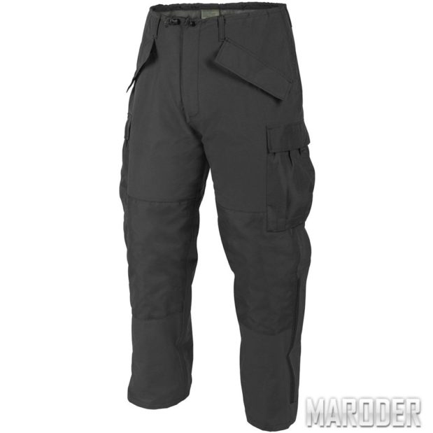 Штаны ECWCS Trousers Generation II Black H2O. Helikon-Tex