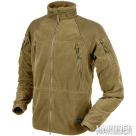 Флисовая куртка Stratus Heavy Fleece Jacket Coyote. Helikon-Tex