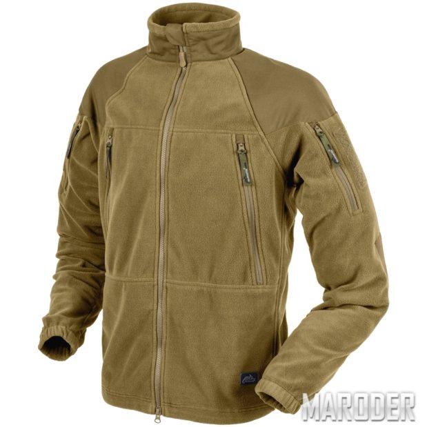 Флисовая куртка Stratus Heavy Fleece Jacket Coyote. Helikon-Tex