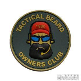 Нашивка ПФХ тактическая борода Tactical Beard