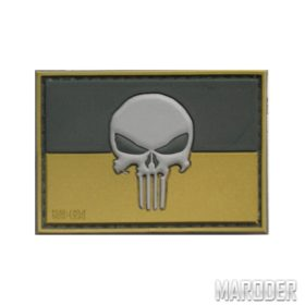 Шеврон ПВХ Punisher UKR полевой