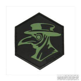 Шеврон ПВХ Чумной Доктор зеленый