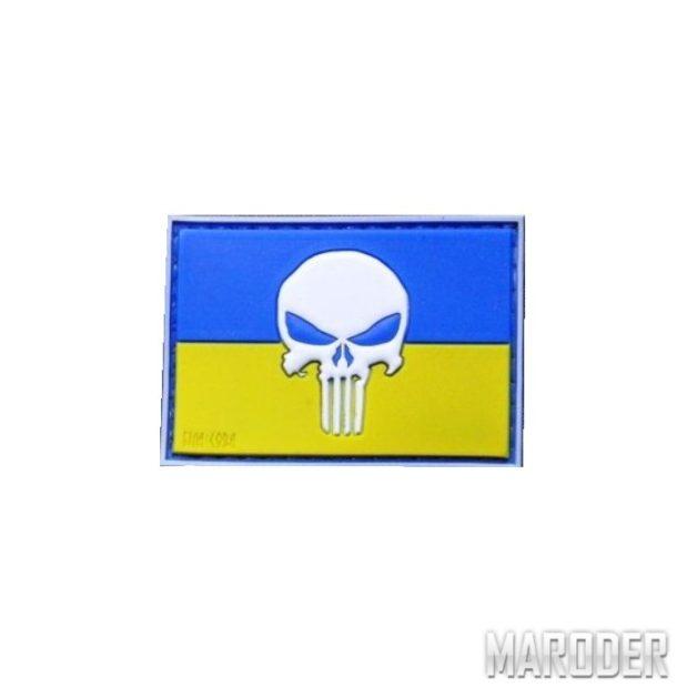 Шеврон ПВХ Punisher Patriot