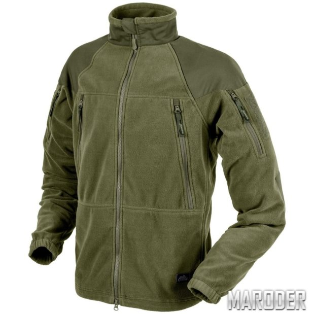 Флисовая куртка Stratus Heavy Fleece Jacket Olive Green. Helikon-Tex