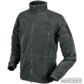 Флисовая куртка Stratus Heavy Fleece Jacket Shadow Grey. Helikon-Tex