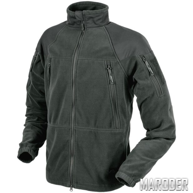 Флисовая куртка Stratus Heavy Fleece Jacket Shadow Grey. Helikon-Tex
