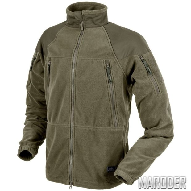 Флисовая куртка Stratus Heavy Fleece Jacket Taiga Green