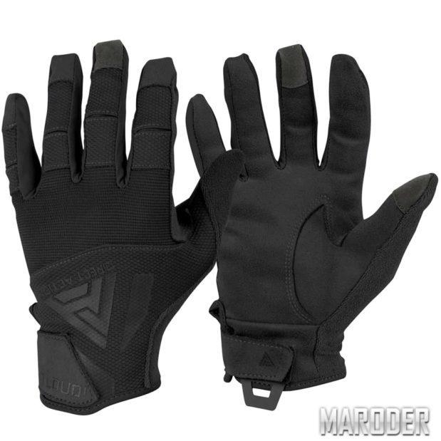 Тактические перчатки Direct Action Hard Gloves Black