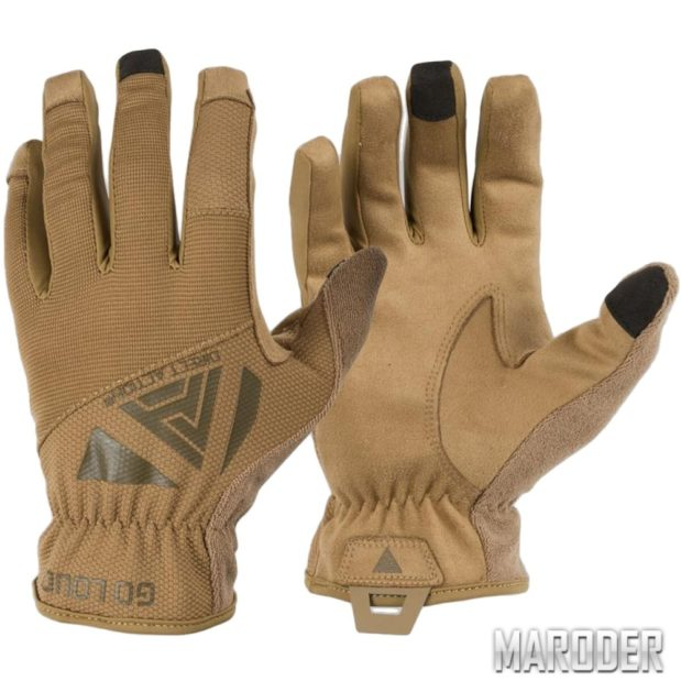 Тактические перчатки Direct Action Light Gloves Coyote Brown