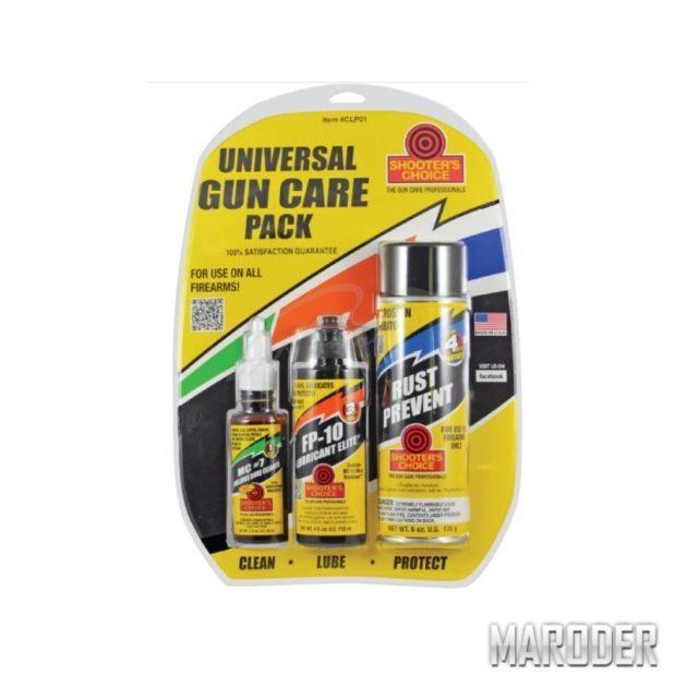 Набор средств для чистки Shooters Choice Universal Gun Care Pack