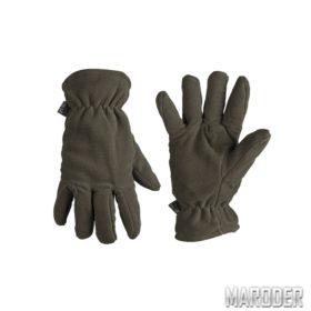 Перчатки зимние флисовые Thinsulate Olive. Miltec