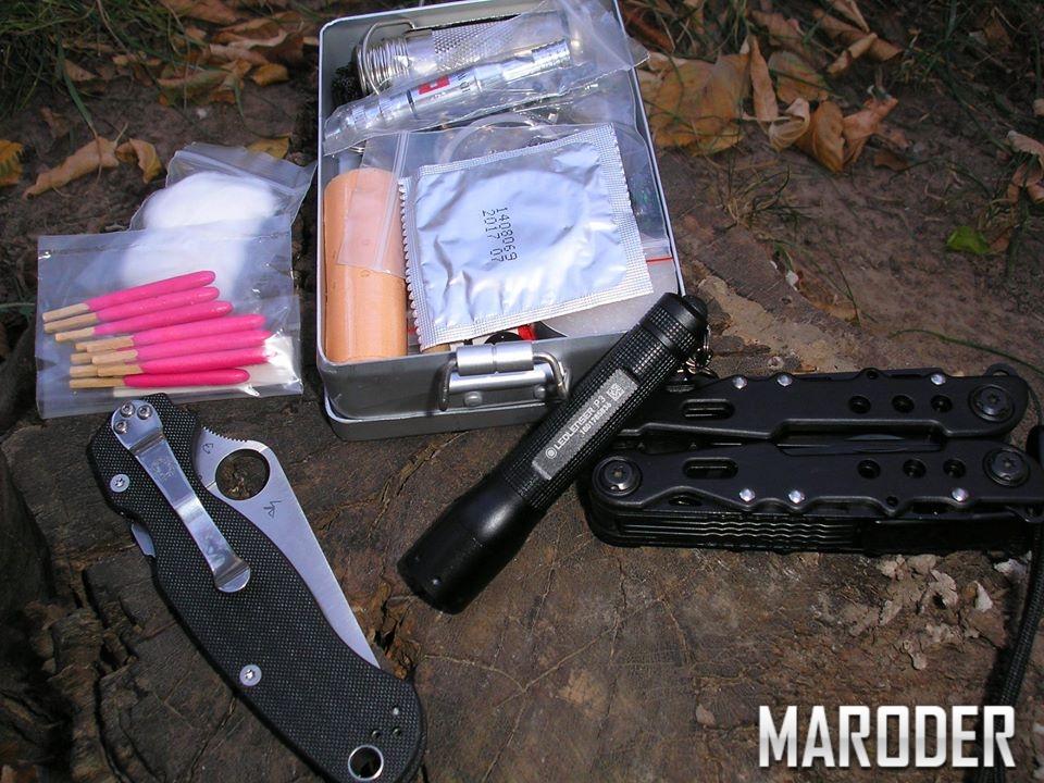 Набор для выживания EDC Fox Parang Survival Kit