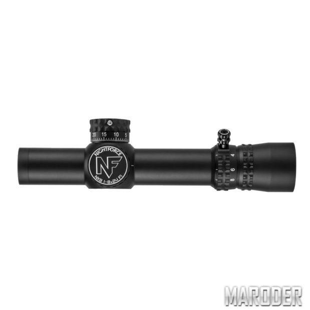 Прицел оптический Nightforce NX8 1-8 x 24 F1 ZeroS 0.5MOA