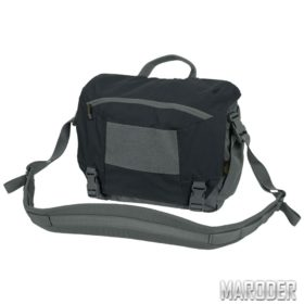 Сумка URBAN COURIER BAG Medium Black / Shadow Grey