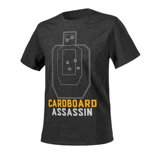 Футболка CARDBOARD ASSASSIN Black-Grey