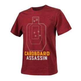 Футболка CARDBOARD ASSASSIN Red Melange