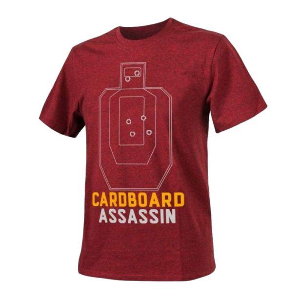 Футболка CARDBOARD ASSASSIN Red Melange