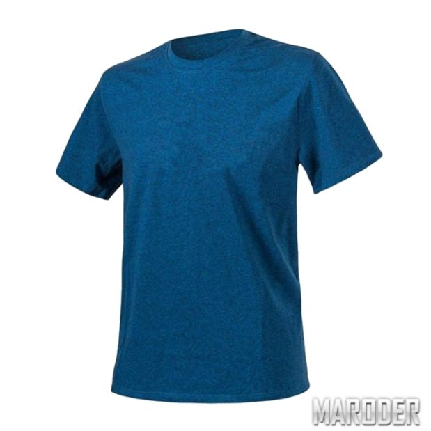 Футболка Melange Blue / Black