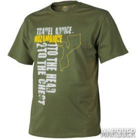 Футболка Travel Advice MOZAMBIQUE US Green