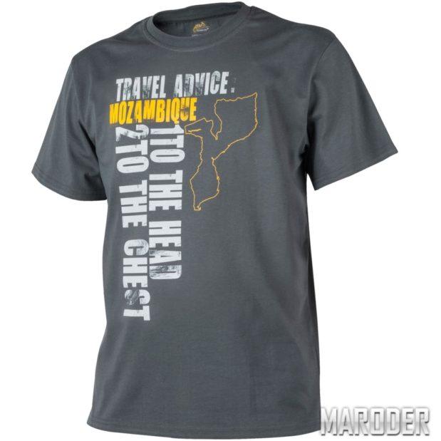 Футболка Travel Advice MOZAMBIQUE Shadow Grey
