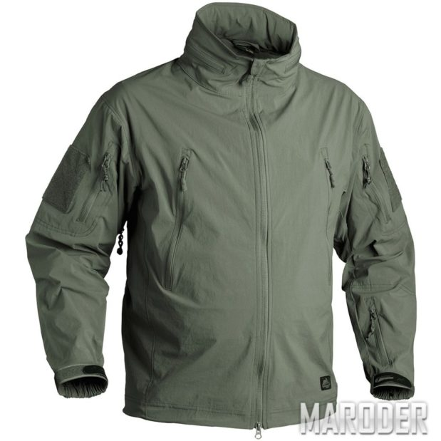 Куртка TROOPER Soft Shell Alpha Green. StormStretch