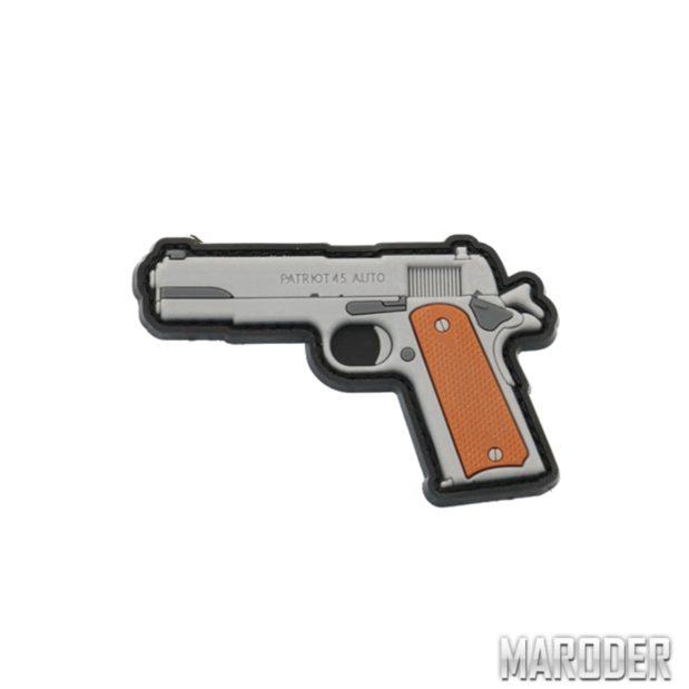 Морал патч Colt Patriot нашивка резиновая ПВХ