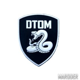 "Морал патч DTOM ""Don't Tread On Me"""