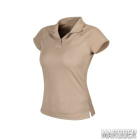 Женская футболка POLO SHIRT Topcool Lite Khaki