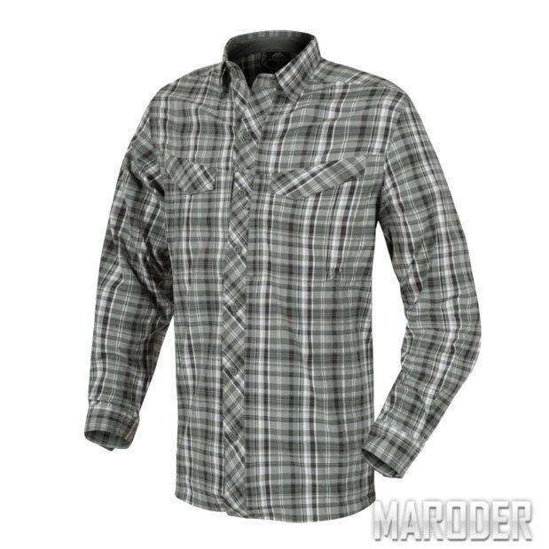 Рубашка DEFENDER MK2 CITY с длинным рукавом Pine Plaid