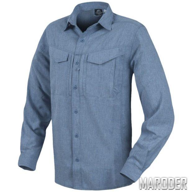 Рубашка DEFENDER Mk2 Gentleman Melange Blue