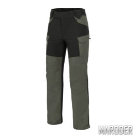 Брюки HYBRID OUTBACK PANTS Taiga Green - Black
