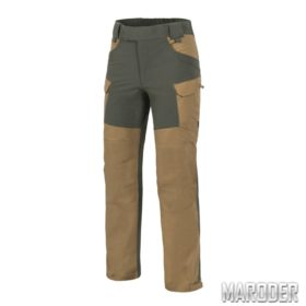 Брюки HYBRID OUTBACK PANTS Coyote - Taiga Green DURACANVAS