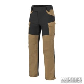 Брюки HYBRID OUTBACK PANTS Coyote - Black. DURACANVAS