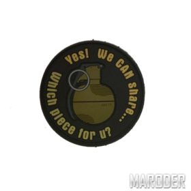 Морал патч WE CAN SHARE. Grenade Patch