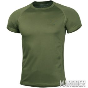 Футболка Body Shock T-Shirt Olive Green. PENTAGON