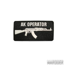 Морал патч AK Operator Black