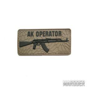 Морал патч AK Operator Coyote